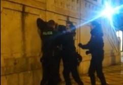 Turistas filmam detenção violenta da PSP em Lisboa