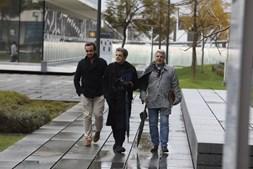 Manuel Maria Carrilho à chegada ao Campus de Justiça