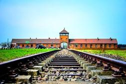 O campo de extermínio de Auschwitz é um símbolo do terror nazi