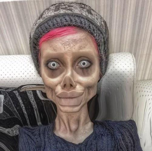 Sahar Tabar No Photoshop >> Sósia de Angelina Jolie publica imagens arrepiantes no Instagram - Insólitos - Correio da Manhã