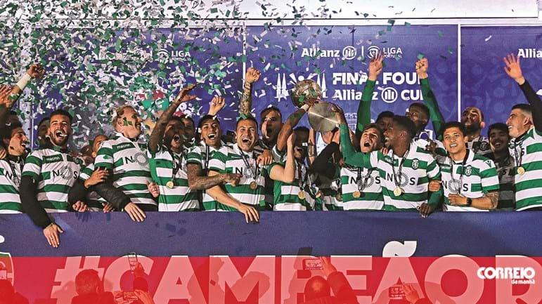 487b002d7 Renan agarra título para o Sporting na Taça da Liga - Futebol - Correio da  Manhã