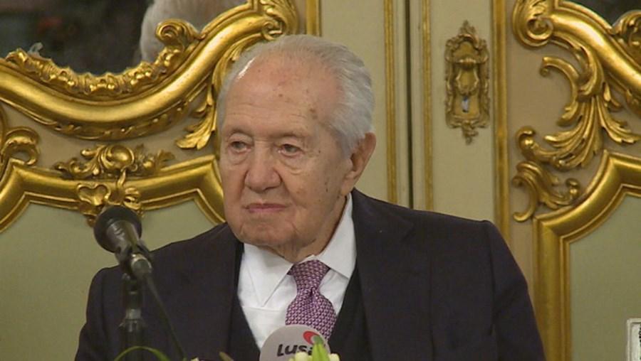O antigo presidente da República, Mário Soares