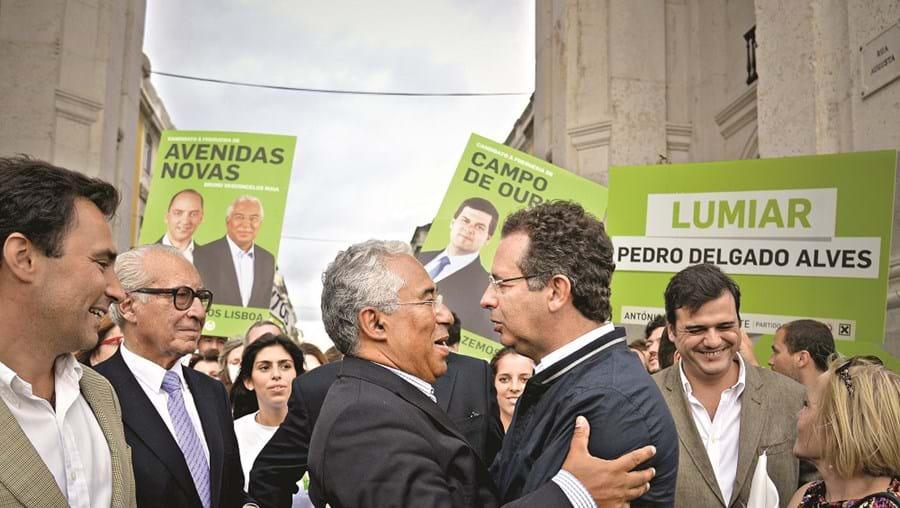 O abraço de Costa a Seguro nas eleições autárquicas de 2013 deu lugar, dois anos depois, a uma luta fratricida pela liderança dos socialistas