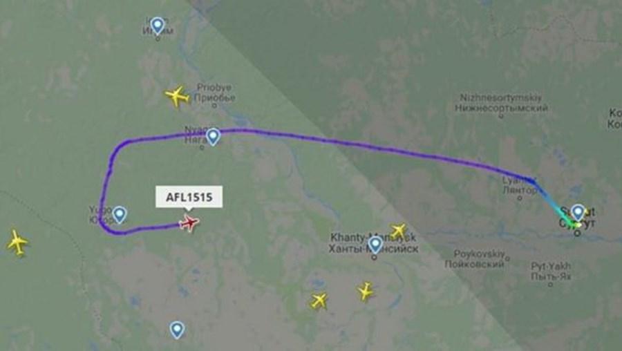 Passageiro assume 'controlo' e desvia avião que seguia para Moscovo