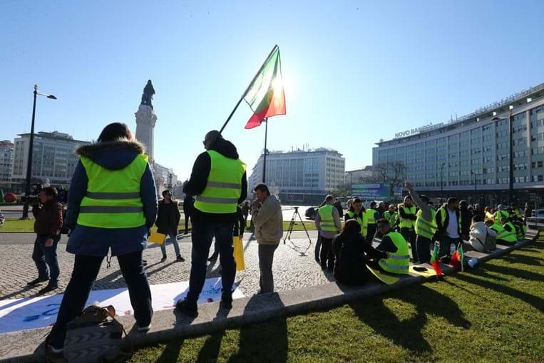 Coletes Amarelos voltam às ruas de Lisboa este sábado
