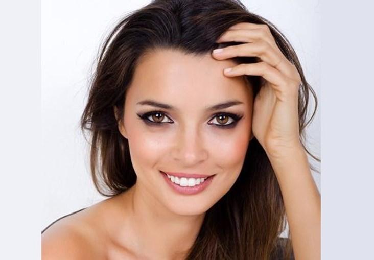 A apresentadora Maria Cerqueira Gomes