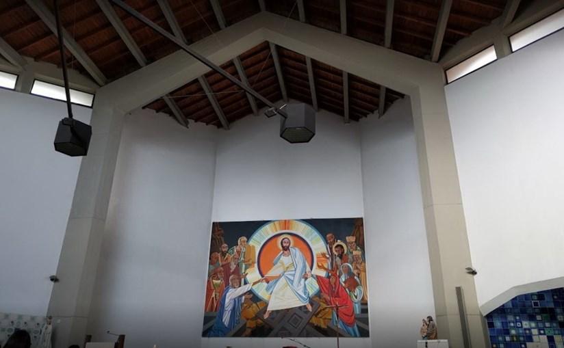 Igreja da Sagrada Família, em Rio de Mouro, no concelho de Sintra