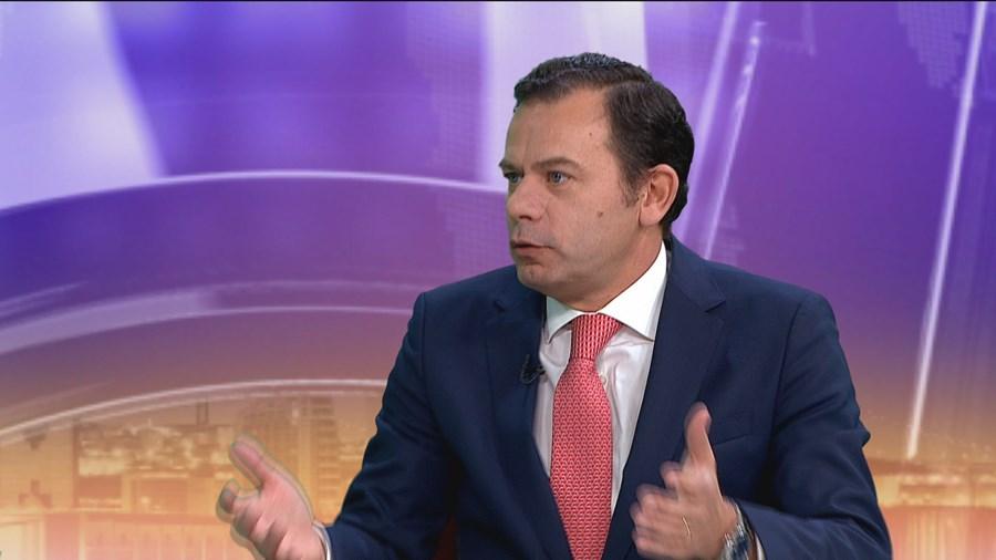 Luís Montenegro em entrevista à CMTV