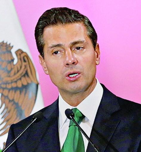 O ex-PR Enrique Peña Nieto