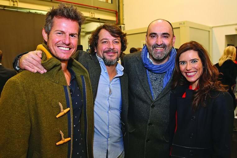 Ricardo Trêpa, António Pedro Cerdeira, António Barreira e Anabela Teixeira fazem parte do elenco da novela 'Alguém Perdeu'