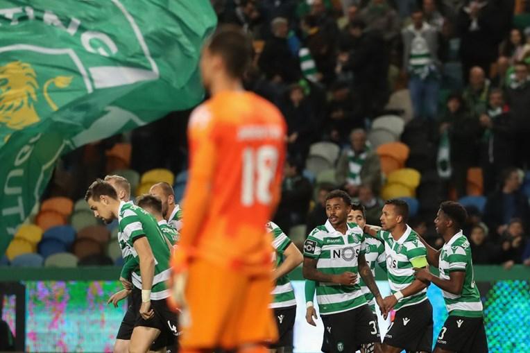 Jogo entre Sporting e Moreirense em Alvalade
