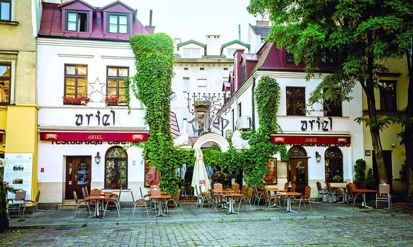 Bairro judeu de Kazimierz, um local marcado pela história
