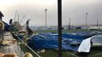 Temporal destrói parte de cobertura de pavilhão gimnodesportivo em Torres Vedras