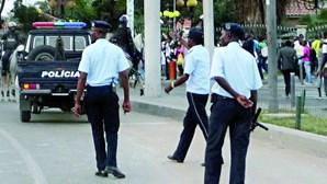 Detidos dois efetivos da polícia angolana suspeitos de fornecer munições a assaltantes