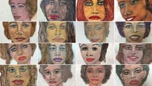 FBI mostra retratos pintados por serial killer para identificar vítimas