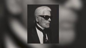 Morreu o estilista Karl Lagerfeld, diretor criativo da Chanel
