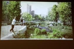 Parque Urbano da Praça de Espanha em Lisboa concluído em 2020