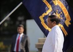 Maithripala Sirisena, presidente do Sri Lanka