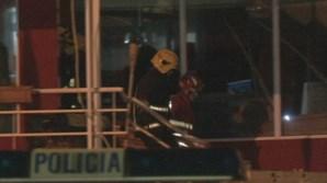 Retirado corpo de jovem de 23 anos que morreu soterrada em restaurante na Madeira