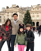 Deborah James e a família