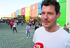 Pedro Rodil, ator de 'Alguém Perdeu', é o embaixador do Entrudo de Ovar