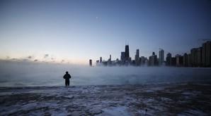 Vaga de frio em Chicago, em janeiro de 2019