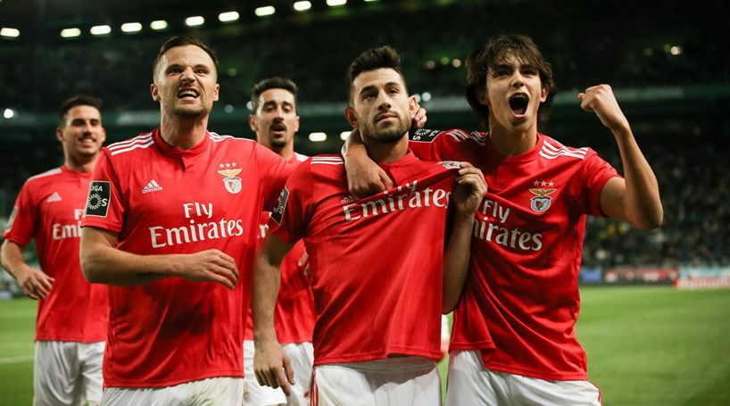Benfica vence o dérbi eterno frente ao Sporting em jogo de sentido único 5f2b17835b5ff