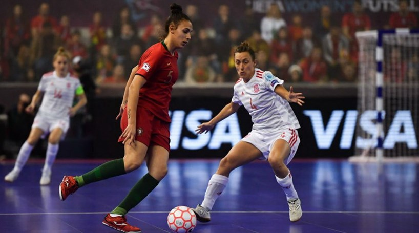 Portugal perde com a Espanha na final do primeiro Europeu de futsal feminino bccea4d468df2