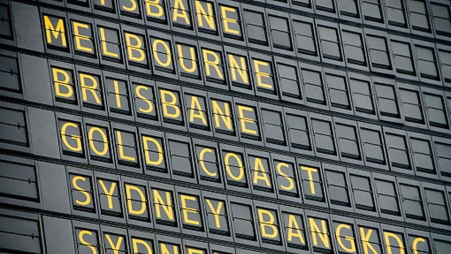 Aeroporto de Brisbane, na Austrália