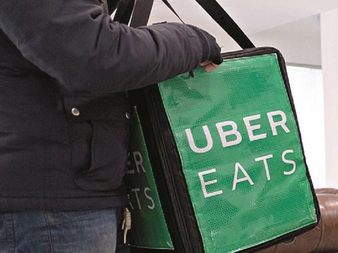 Estafetas da Uber Eats detidos