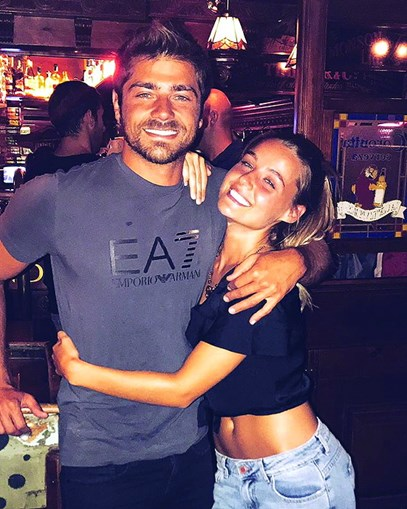 Lourenço Ortigão e Kelly Bailey