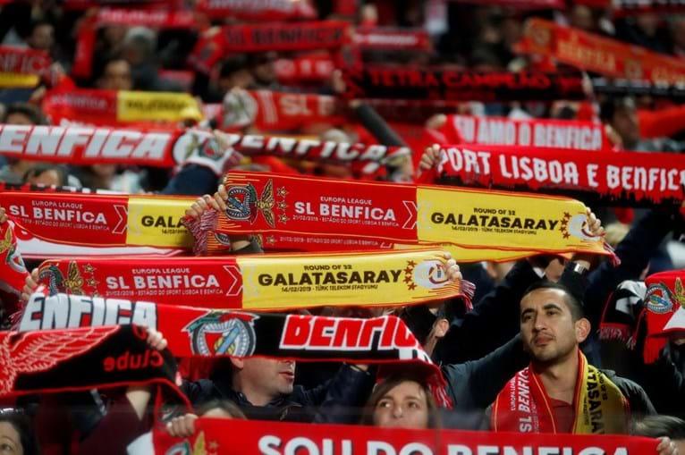Adeptos Benfica