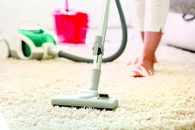 As casas devem ser aspiradas com frequência, de forma a eliminar componentes alérgicos
