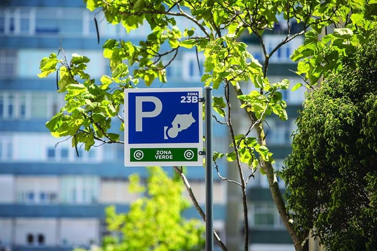 Estacionamentos pagos