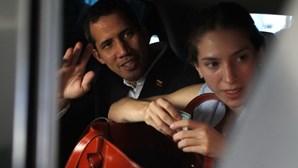 Guardas detidos por não prenderem Juan Guaidó