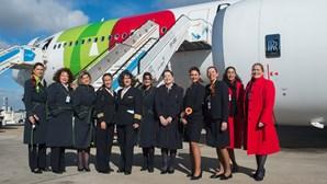 TAP faz primeiro voo do mundo em Airbus A330Neo apenas com mulheres na tripulação