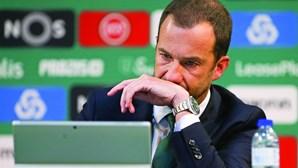 Sporting SAD anuncia exercício negativo em 2018/19 de quase oito milhões de euros