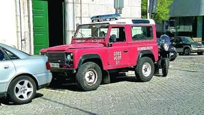 Ladrão rouba jipe dos bombeiros de Braga