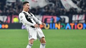 Ronaldo multado pela UEFA por gesto polémico na Liga dos Campeões