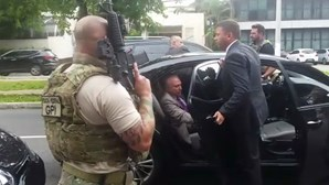 Antigo presidente do Brasil Michel Temer foi detido