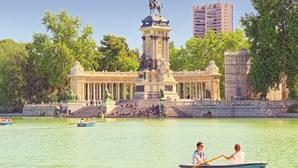 Madrid é uma cidade cheia de luz