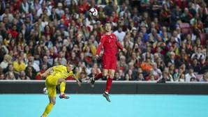 Portugal empata sem golos com a Ucrânia no arranque da qualificação para o Euro 2020