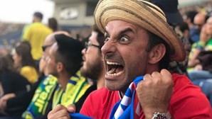 Rui Unas em êxtase com o empate do Panamá com o Brasil