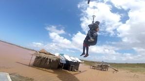 Fuzileiro português resgata mulher com recurso a helicóptero em Moçambique