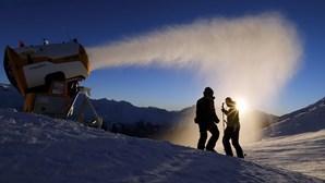 Mudanças climáticas estão a mudar a face do esqui profissional