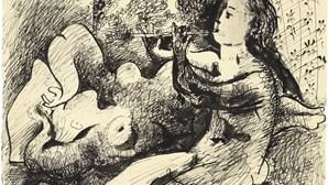 Quadro de Pablo Picasso vendido por 286 mil euros