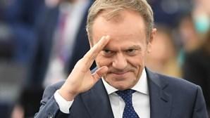 Tusk defende escolhas para cargos da União Europeia e apela a envolvimento dos Verdes
