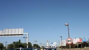 Redução de velocidade na Segunda Circular em Lisboa