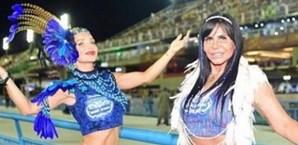 Luciana Abreu brilha no Carnaval brasileiro