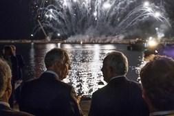 Marcelo Rebelo de Sousa e o primeiro-ministro António Costa, nas celebrações do 10 de junho - Dia de Portugal - nos Açores